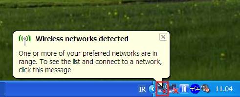 Click on the Network icon...